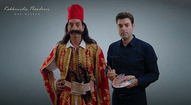 Ο-Στρατηγός-Γεώργιος-Καραϊσκάκης-στο-μουσείο-του-Θ.-Κοκκινίδη